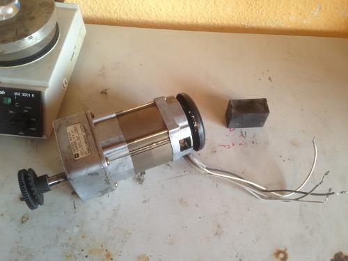 4 adrigen Motor anschließen (aus Kopierer) (Elektronik, Wissenschaft ...