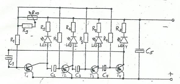 4-Kanal Lauflicht funktion (Technik, Schaltplan)