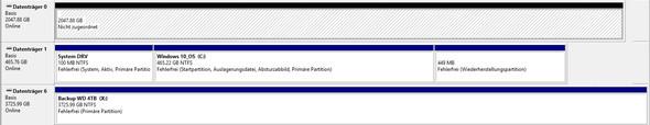 Datenträgerverwaltung - (Computer, Festplatte, Speicher)