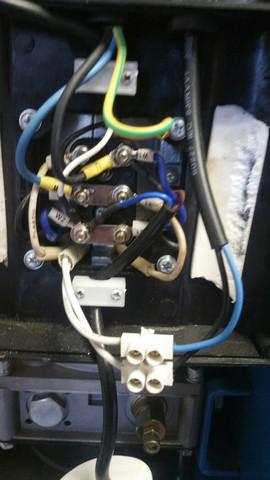 400V Motor an 230V Netz anschließen, dreiecks- steinmetzschaltung ...