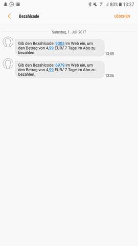- (SMS, Telekom, Hack)