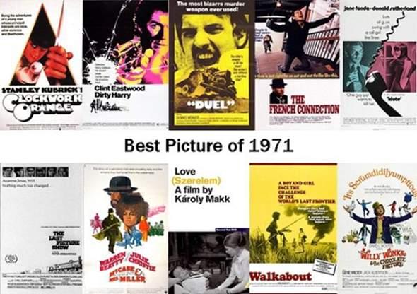 50-jähriges Jubiläums-Special: Welcher Film von 1971 ist euer Favorit?
