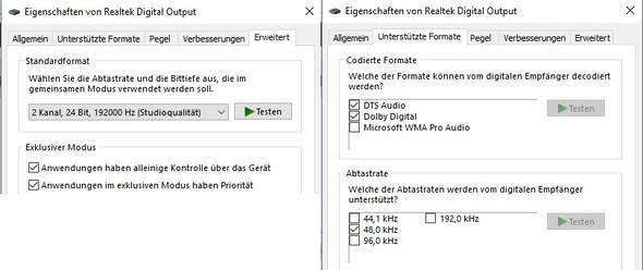 1 Soundeinstellungen - (PC, Mikrofon, Soundkarte)