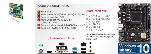 2 Motherboard - (PC, Mikrofon, Soundkarte)