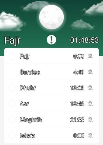 6 Gebete am Tag im Islam?
