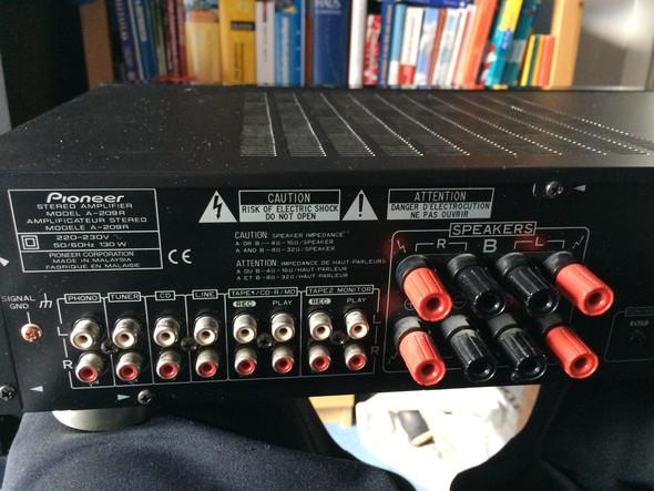 Pioneer A 209R - (Musik, Elektronik, Lautsprecher)
