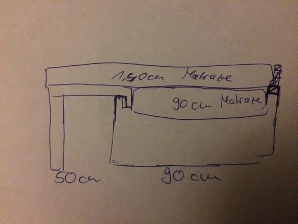 90cm Bett Auf 1 40m Erweitern Bild Handwerk Handwerklich
