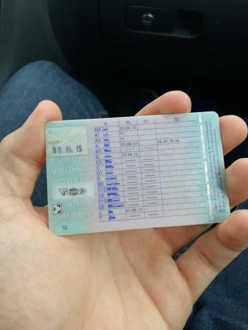 A Führerschein ja oder nein?
