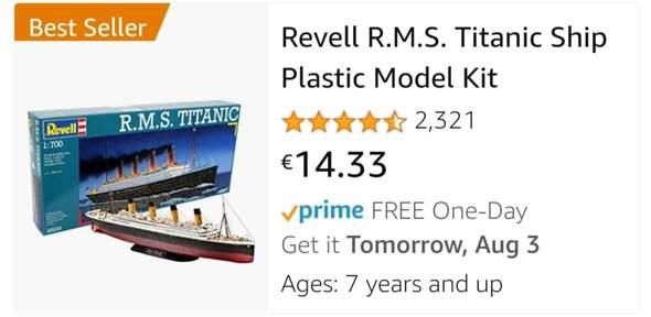 A oder B😂?Will nicht so viel Geld ausgeben, aber trotzdem bisschen Titanic haben😅?