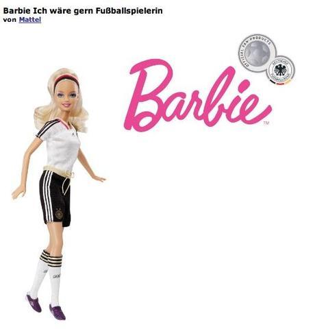 Barbie - Ich wär gern Fußballerin - (spielen, Barbie)