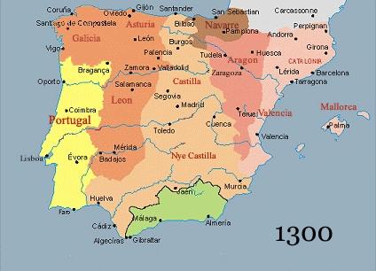 Ab wann spricht man von Spanien oder Spanisch? (Portugal, iberische ...