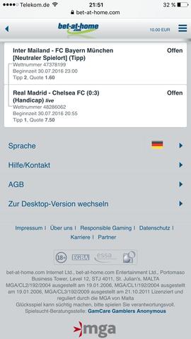 Sportwette - (Internet, Fußball, Sportwetten)