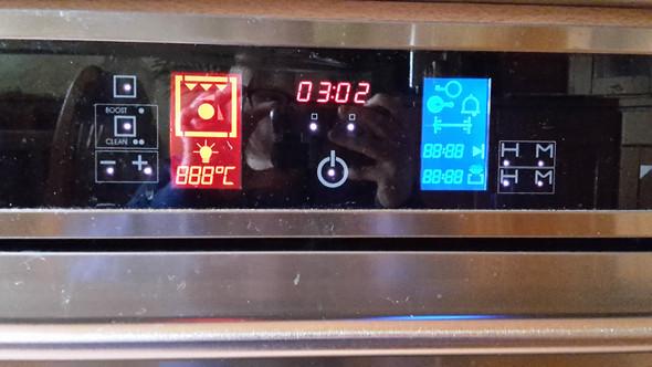 Bild des Bedienfelds des Ofens - (Technik, Strom, Küche)