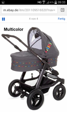Zwillingskinderwagen abc  Abc Viper S4 Kinderwagen; Welche Farbe für Mädchen? (Abc Design)