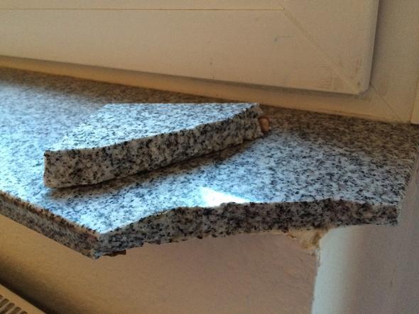 mit welchem kleber kann man eine abgebrochene steinfensterbank kleben haushalt reparatur. Black Bedroom Furniture Sets. Home Design Ideas