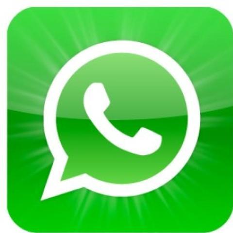 Whatsapp Symbol.  - (WhatsApp, Abkürzung)