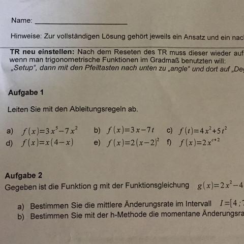 D e f - (Mathe, Mathematik, Gymnasium)