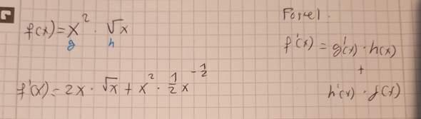 - (Schule, Mathematik, ableiten)
