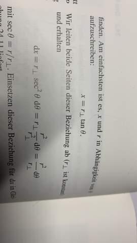 Ableitung einer Gleichung (Physik)?