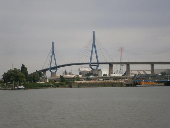 Köhlbrandbrücke Hamburg - (Hamburg, Brücke, koehlbrandbruecke)