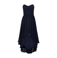 blaues kleid - (Kleid, Abschluss, High School)
