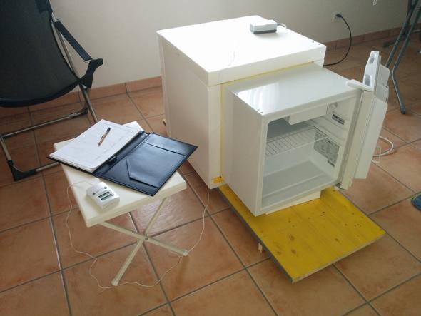 Messobjekt - (Physik, Energie, Kühlschrank)