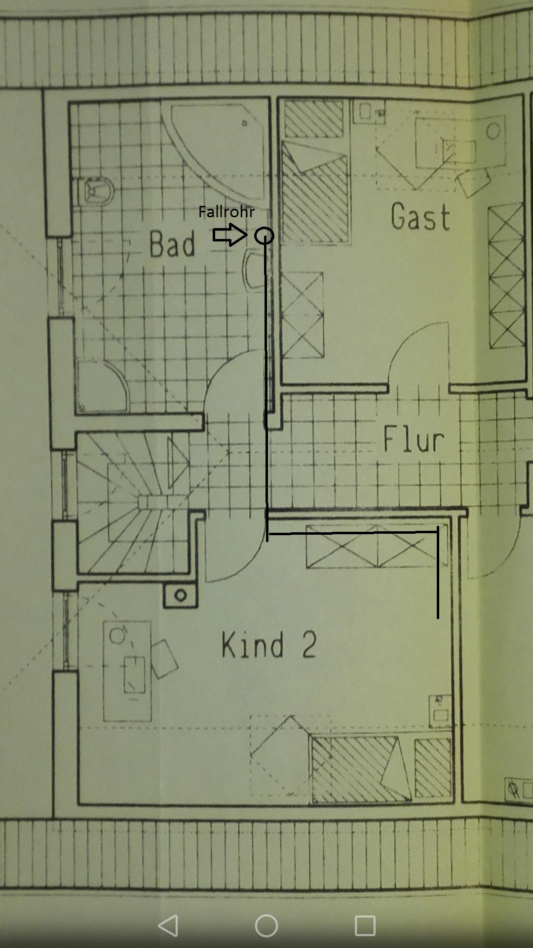 Abwasserrohr In Decke Verlegen Haus Rohr Abwasser