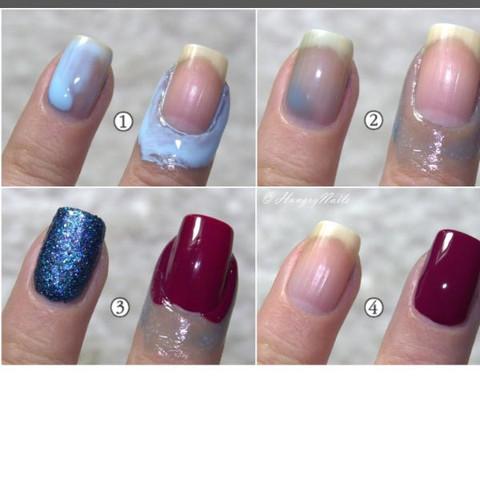 Abziehbarer nagellack  - (Nägel, Nagellack)