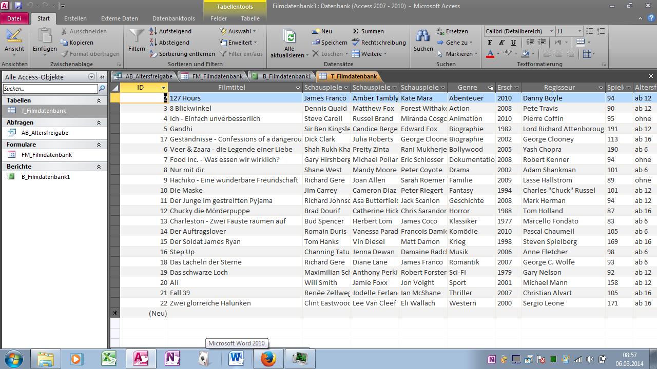 Fantastisch Microsoft Access Vorlagen Ideen - Beispiel ...