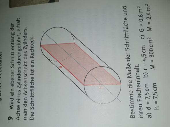 Wie berechnet man den umfang eines zylinders aus