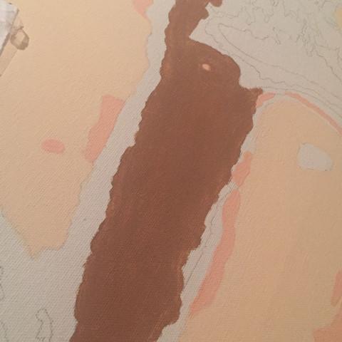 Acryfarbe Auf Leinwand Heller Mischen Kunst Farbe Acryl