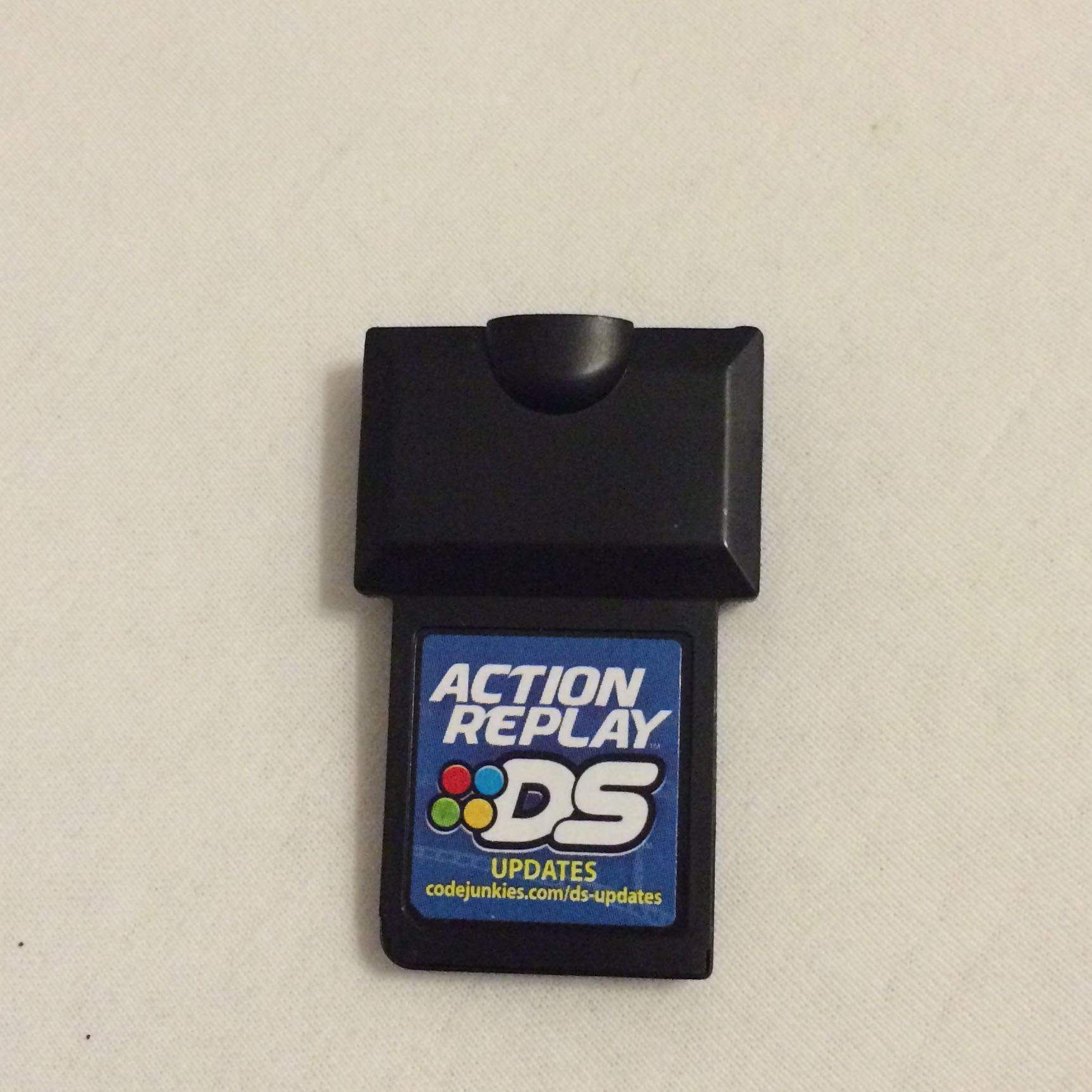 firmware action replay 3ds code