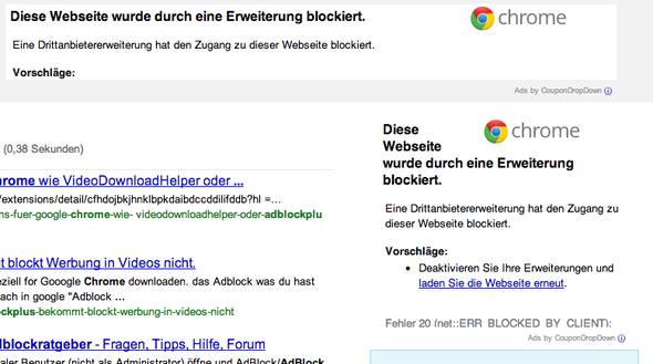 adblock plus chrome hinweisbild 1 - (google-chrome, adblock plus chrome)