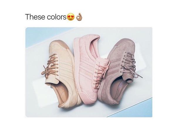 Diese Art Adidas meine ich (Bild von Instagram) - (Mode, Schuhe, adidas)