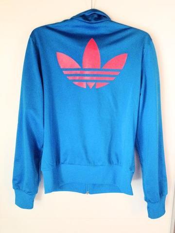 Adidas jacke damen blau pink