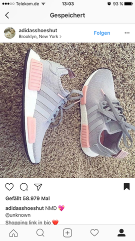 many styles best sell reasonable price Adidas NMD grau/rosa wo finde ich sie ? (Schuhe)