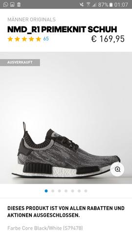 Adidas Adidas NMD pkSneaker r1 NMD DHW29IE