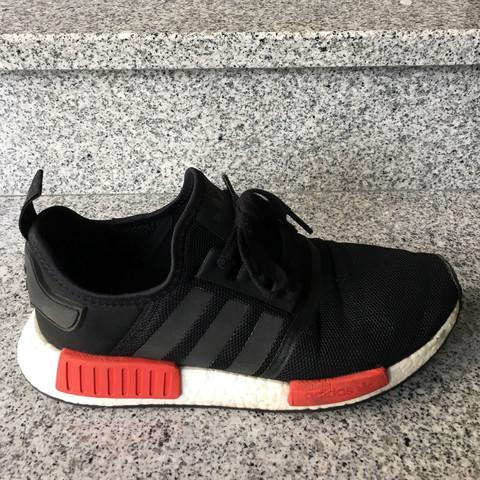 Adidas NMD Streifen schwarz machen? (Schuhe)