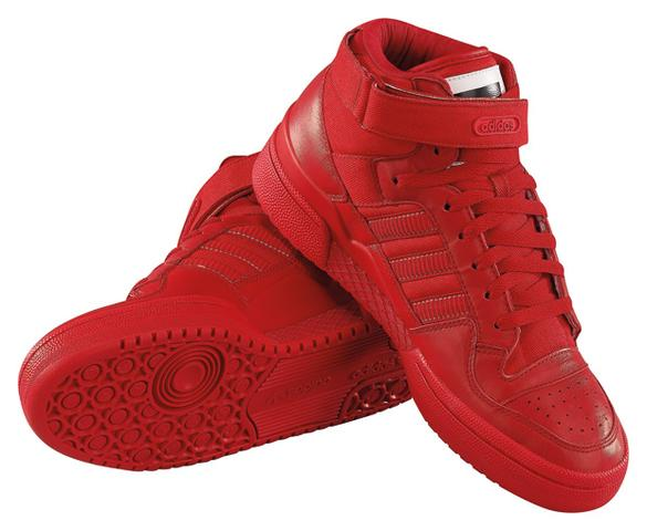 adidas rote sneaker (Schuhe)
