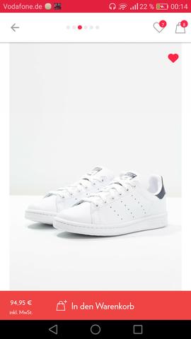 Adidas Stan smith (Weiß, low) diesen Sommer noch tragen
