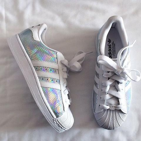 Holographic  - (adidas, Superstar, Holographic)