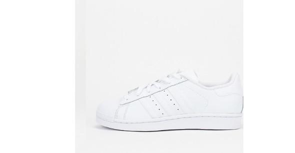 Komplett weiß - (Schuhe, adidas)
