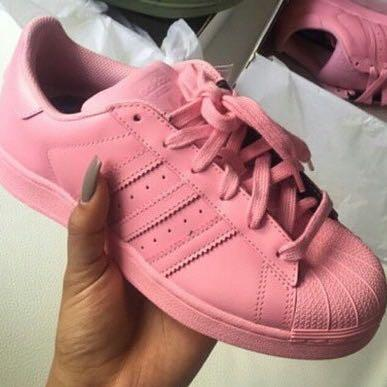 Adidas Superstar Pharrell Rosa