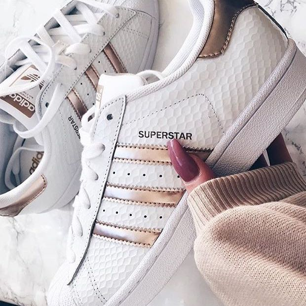 adidas superstar weiss rosa damen