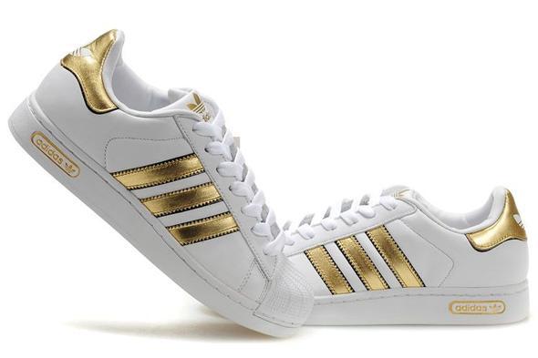 Adidas Schwarz Weiß Gold