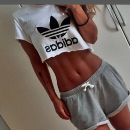 top 2 - (Style, adidas, Top)
