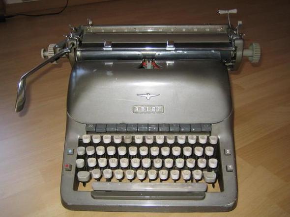 Wie viel sind alte Schreibmaschinen wert?