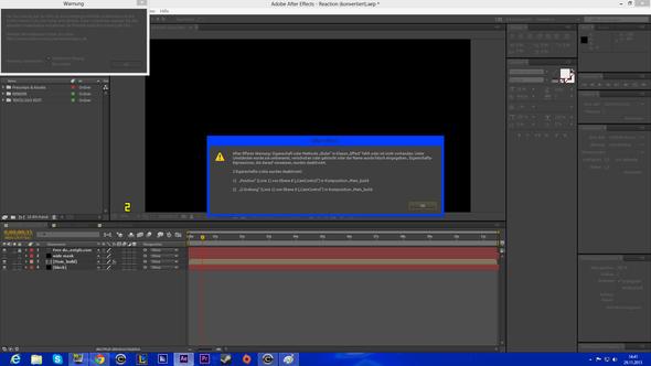 Fehlermeldung 1 - (Internet, Adobe, Intro)