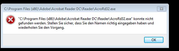 Fehlermeldung - (Computer, Programm, Software)