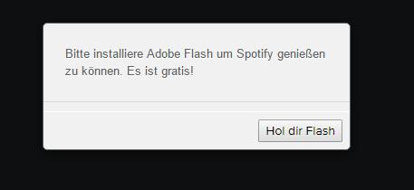 Bild vom Fehler - (Adobe, installieren, Spotify)